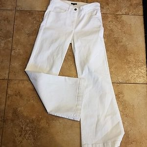 Escada 36 White Jeans  stretch 36 Cotton mix